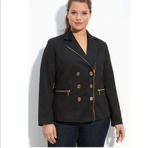 Michael Kors • Double Breasted Jacket in Black